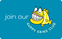 guppy grinz | patient rewards program